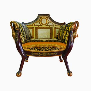 The Swan Lounge Chair by Gianni Versace for Atelier Versace, 1980s