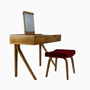Dressing Table & Setee by Cees Braakman & Adriaan Dekker for Pastoe, 1950s, Set of 2