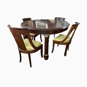 Dining Table & Chairs Set, Set of 5