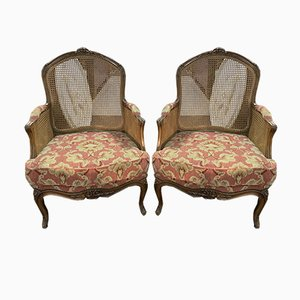 Louis XV Armchairs, Set of 2