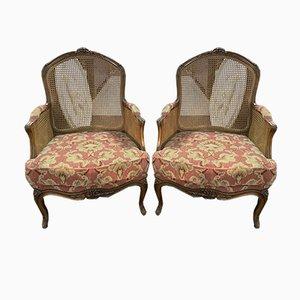 Louis XV Armlehnstühle, 2er Set
