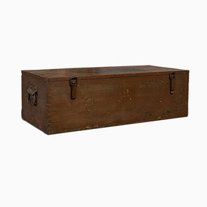 Large Vintage Carriage Chest