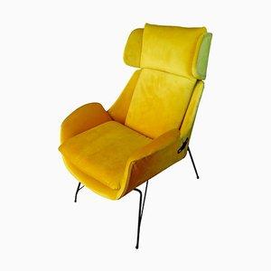 Lounge Chair by Augusto Bozzi for Saporiti Italia, 1950s