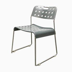 Postmoderner Vintage Space Age Omkstack Stuhl von Rodney Kinsman für Bieffeplast