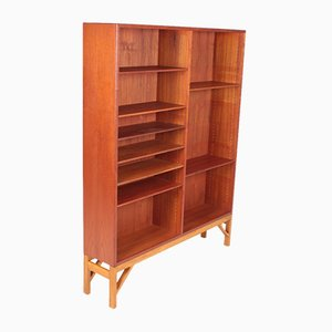Mid-Century Danish Teak Bookcase by Børge Mogensen for FDB