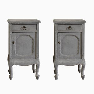 Rococo Style Bedside Tables, Set of 2