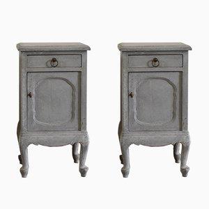 Tables de Chevet Style Rococo, Set de 2