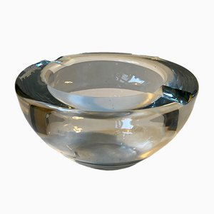 Mid-Century Crystal Ashtray from Kosta, 1960s