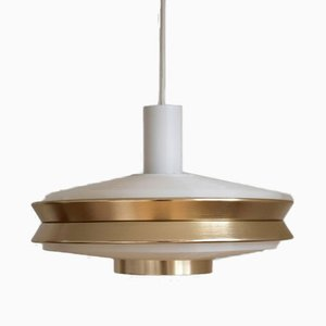 Mid-Century Danish Model P620 UFO Ceiling Lamp by Poul Henningsen for VEB Deutsche Werkstätten Hellerau
