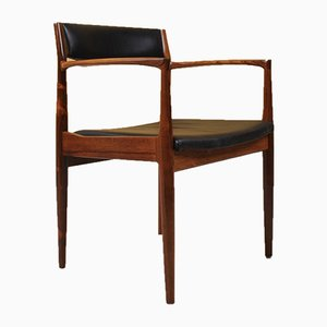 Rosewood Armchairs by H. W. Klein for Bramin, 1960s, Set of 2