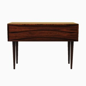 Rosewood 2-Drawer Chest of Drawers by Clausen, Niels for N.C Mobler, 1960s