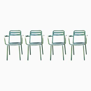 T2 Garden Chairs from Tolix, 1950s, Set of 4