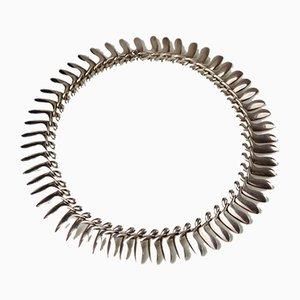 Halskette von Bent Gabrielsen für Georg Jensen, Denmark, 1960er