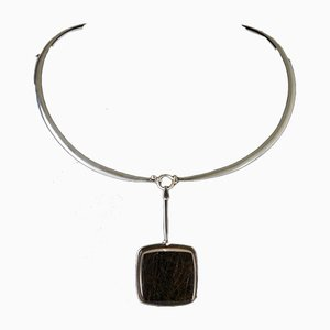 Necklace by Torun Bülow-Hübe for Georg Jensen, Denmark, 1960s