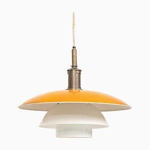 Danish Model PH 5/5 Ceiling Lamp by Poul Henningsen for Louis Poulsen, 1920s