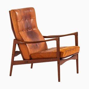 Schwedischer Modell Örenäs Sessel von Ib Kofod-Larsen für OPE, 1950er