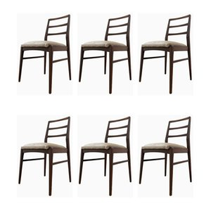 Mid-Century Teak Extendable Dining Table & Chairs Set by Richard Hornby for Heal's, Set of 6