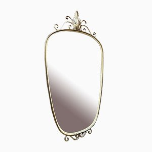 Mirror in Gilded Metal, 1950s