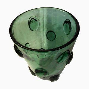 Italienische Mid-Century Murano Vase, 1960er