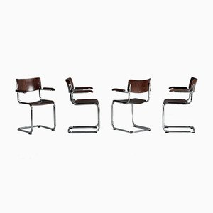 Beech S 43 F Cantilever Chair by Mart Stam for Thonet, 1990s