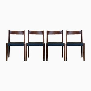 Teak Dining Chairs by Poul M. Volther for Røjle, 1960s, Set of 4