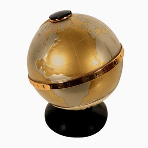 Metal and Plastic Radio Globe, 1960s