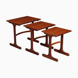 Tavolini ad incastro di G-Plan, anni '60