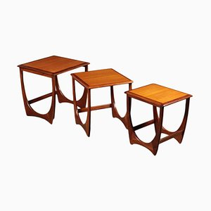 Wooden Nesting Tables from G-Plan