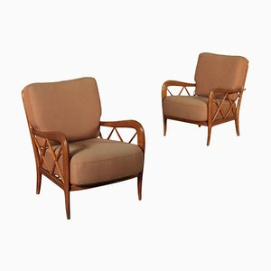 Chairs in the Style of Paolo Buffa, Set of 2
