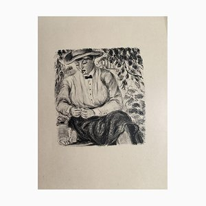 Kellner - Original Lithografie auf Papier - 20. Jahrhundert 20. Jahrhundert