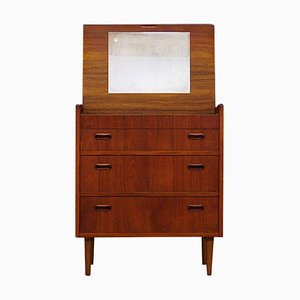 Danish Teak Secretaire, 1960s