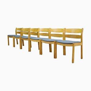 Danish Chairs by Kurt Østervig, for FDB Møbler, 1970s, Set of 6