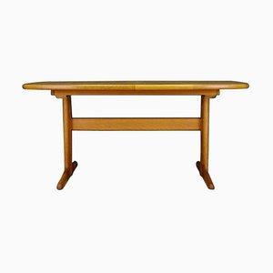 Mid-Century Danish Ash Side Table, 1960s
