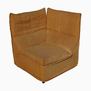 Corner Lounge Chair by Paolo Nava, Antonio Citterio for B&B Italia / C&B Italia, 1970s