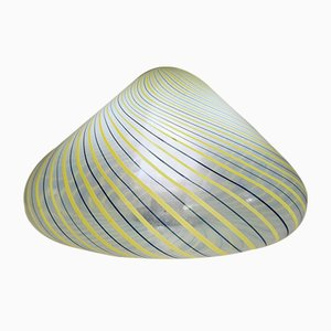 Murano Glass Mushroom Lamp from Fratelli Toso, 1970s