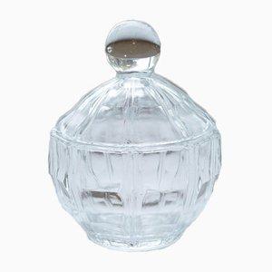 Kleines Mid-Century Bonbongär aus Glas