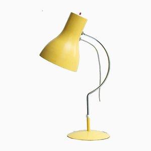 Gelbe Vintage Tischlampe von Josef Hurka für Napako