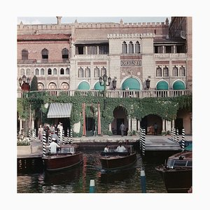 Westin Excelsior Oversize C Print Framed in White by Slim Aarons