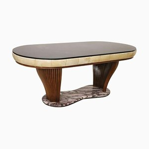 Italian Oval Dining Table by Vittorio Dassi, 1950s