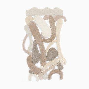 Mira Sohlen Wandteppich aus Kunstseide OPUS XI 2020