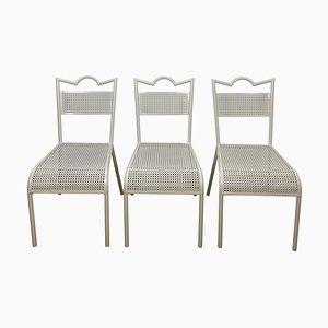Mid-Century Esszimmerstühle von Mathieu Matégot, 3er Set