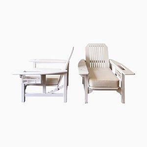 Vintage Armchairs by Pierre Dariel, Set of 2
