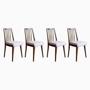 Chaises de Salon Mid-Century par Antonín Šuman pour Jitona, Set de 4