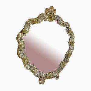 Gold Glass Mirror from Barovier & Toso, 1970s