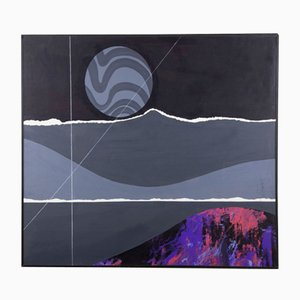 Gemälde ohne Titel von Joseph A. Pecsenke, 1980er