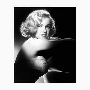 Young Marilyn Archival Pigment Print Framed in Black by Everett Collection