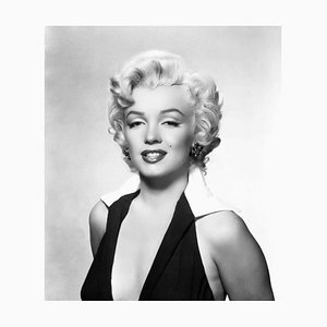 Classic Marilyn Archival Pigment Print Framed in White by Everett Collection