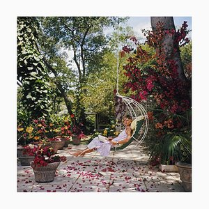 Barbados Bliss Oversize C Print Framed in Black by Slim Aarons