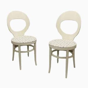 Model Seagull Dining Chairs from Baumann, 1970s, Set of 2