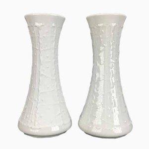 Porzellan Vasen von Royal Porzellan Bavaria KPM, 1960er, 2er Set